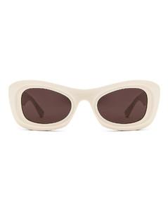 Acetate Sunglasses in White