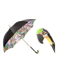 葩莎帝鹦鹉双层伞面手工伞
