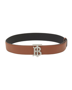 Reversible Monogram Motif Leather Belt