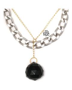 玳瑁色Large方框防蓝光眼镜