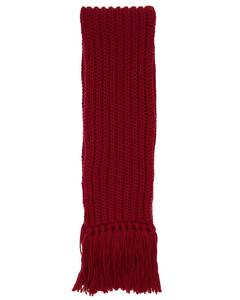 Wool Blend Bignabel Long Scarf