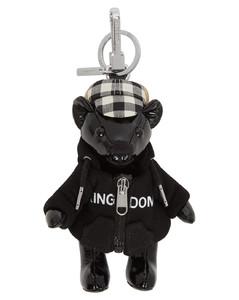 黑色Thomas Hoodie & Cap皮革钥匙扣