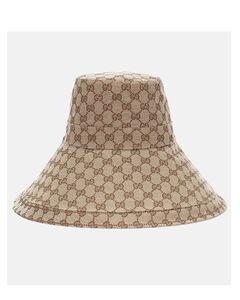 GG Supreme帆布帽子