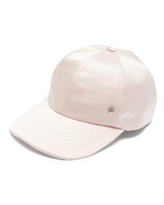 Tiger silk-blend satin baseball cap