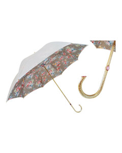 Flowers Umbrella, Jeweled Handle