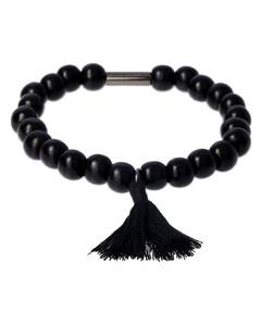 Santos steel and calfskin watch