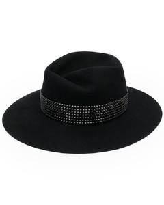 Logo-engraved shield acetate sunglasses
