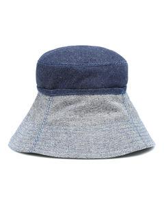 Cuffed牛仔布渔夫帽