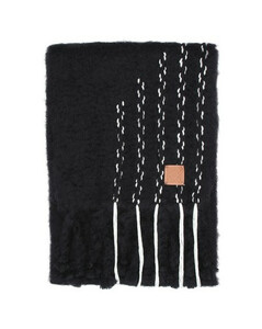 Stitches mohair scarf
