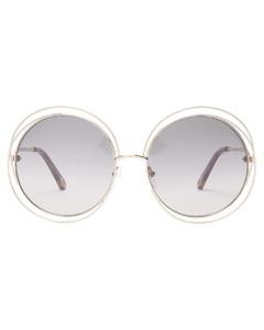 Carlina round metal sunglasses