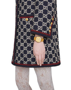 35mm Gucci Grip Gold Colored Watch