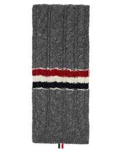 灰色RWB Stripe围巾