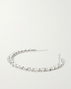 Silver-tone And Crystal Headband