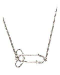施华洛世奇黑天鹅系列镀玫瑰金色小码项链