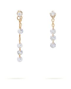 施华洛世奇天鹅系列镀玫瑰金色项链