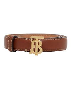 2cm Tb Leather Belt