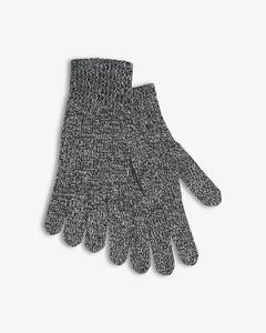 锯齿图案针织头巾
