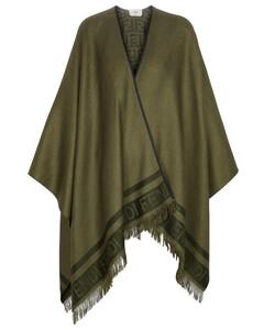 真丝羊绒混纺斗篷