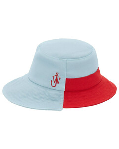 Asymmetric Recycled Polyester Bucket Hat