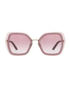 OV5445U square-frame acetate sunglasses