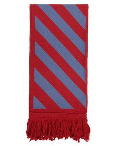 红色&蓝色Diag围巾