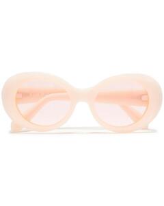 Woman Round-frame Acetate Sunglasses
