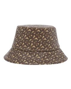 Cotton Monogram Bucket Hat