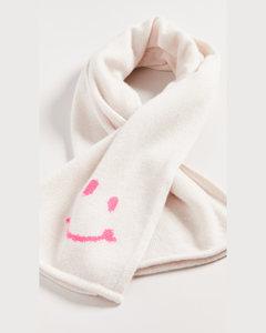 笑脸羊绒围巾
