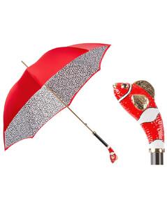葩莎帝红鱼双层伞面手工伞