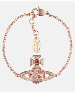 Women's Francette Bas Relief Bracelet - Pink Gold/Rose
