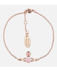 Women's Isabelitta Bas Relief Bracelet - Pink Gold Pink Pink