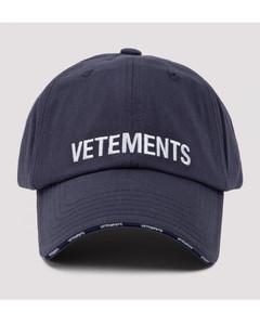 Blue logo baseball cap