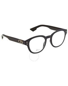 Black Round Eyeglasses DIORCD2102349807 46
