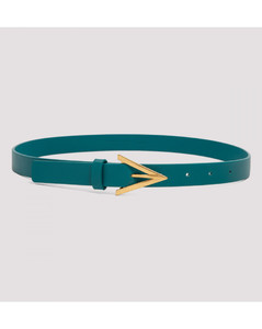 Triangle Leather Belt