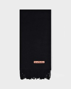 Scarf Canada New In Black Wool