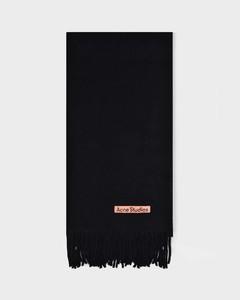 Scarf Canada New In Black Wool