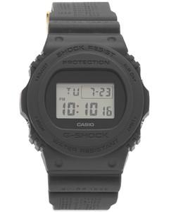 Logo-patch technical ski gloves