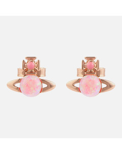 Women's Isabelitta Bas Relief Earrings - Pink Gold Pink Pink