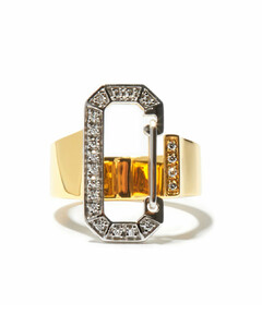 Eéra diamond & 18kt gold ring