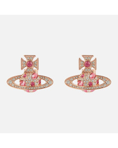Women's Francette Bas Relief Earrings - Pink Gold/Rose
