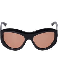 Eyewear Celina Square-Frame Sunglasses