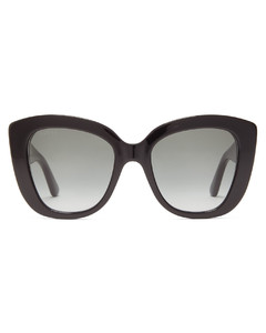 GG-embossed butterfly acetate sunglasses