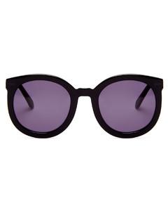 Super Duper Strength round acetate sunglasses