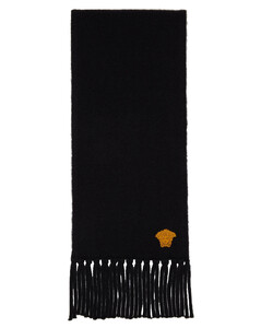 黑色Medusa围巾