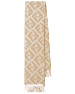 FF羊绒流苏围巾