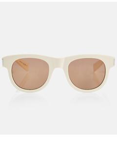 Super-Star Sneakers in White/Multicolored Leather