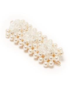 Antonia bead-embellished hair clip