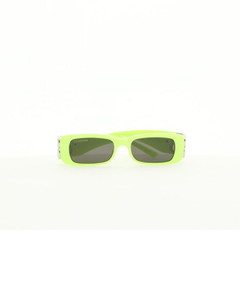 Small Column 18kt gold-plated hoop earrings