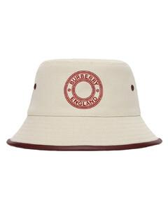 Logo Cotton Bucket Hat