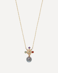 黑色&白色Classic Skull真丝围巾